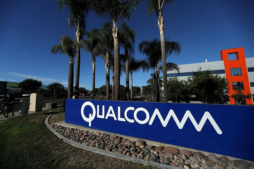 Qualcomm's campus in San Diego, California. US President Donald Trump blocked Broadcom's bid for Qualcomm, citing national security issues.