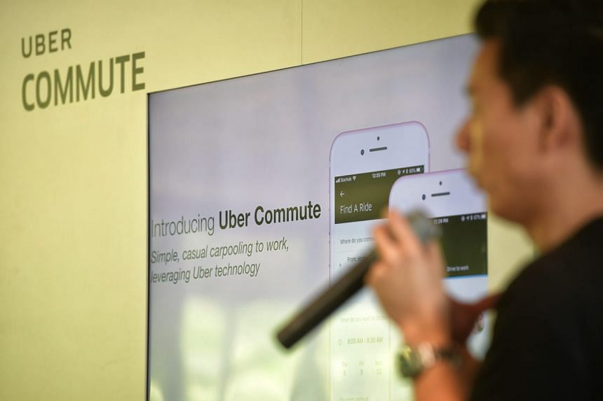 Uber Commute allows motorists headed to work to pick up passengers for a small fee to cover costs such as petrol.