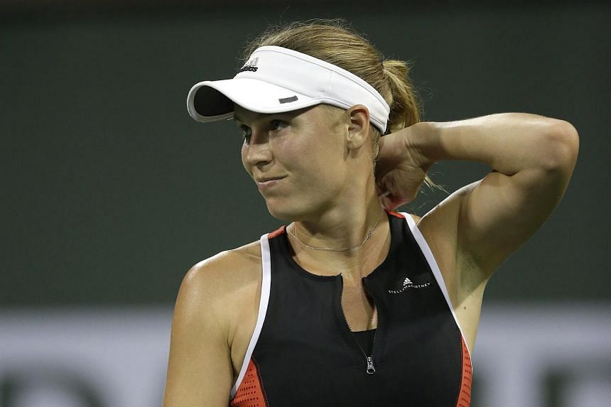It was a disappointing exit for Caroline Wozniacki, who finally silenced her critics earlier this year with her maiden Grand Slam title in Melbourne.