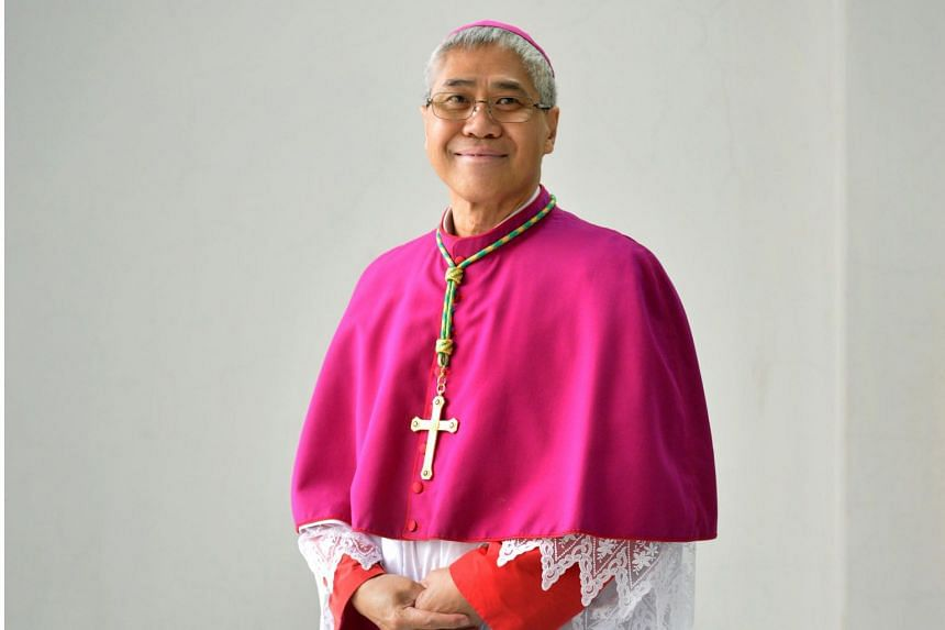 A fake Facebook account with Archbishop William Goh's name and photos was set up asking for donations.