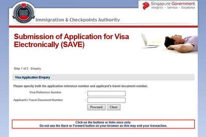 In April 2016, the Immigration and Checkpoints Authority (ICA) warned the public of a fake website that has been phishing for visitors' visa numbers and passport numbers.