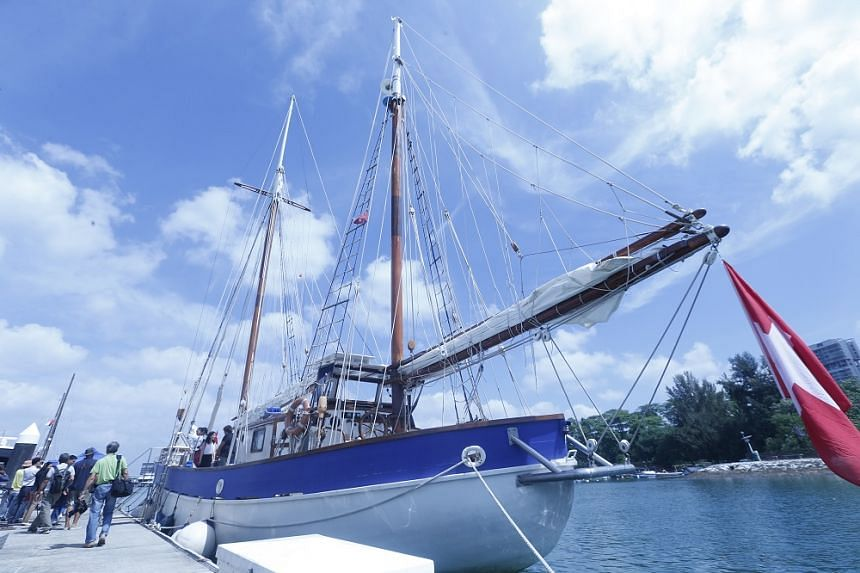 Fleur de Passion is making its inaugural stopover in Singapore, where it will remain till March 25.