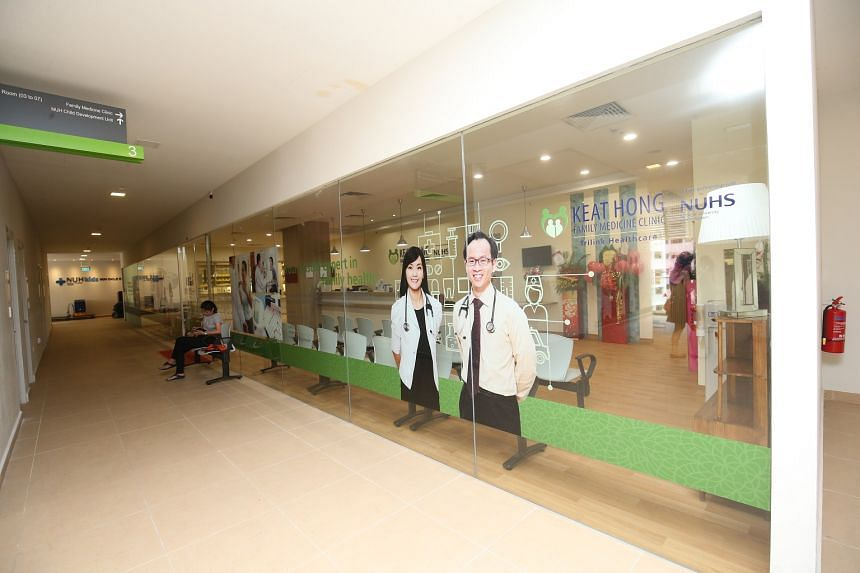 Keat Hong Family Medicine Clinic sees nearly 1,500 patients every month, 60 per cent of whom have chronic diseases.