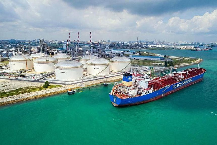 PCS' newest installation in Jurong Island includes eight storage tanks totalling some 240,000 cubic metres in capacity, and a 120,000 deadweight tonnage liquid berth capable of handling large vessels transporting naphtha and associated facilities.