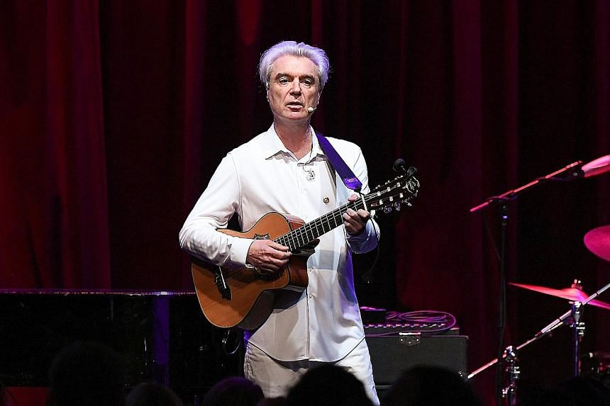 American Utopia is David Byrne's first solo studio album in 12 years.