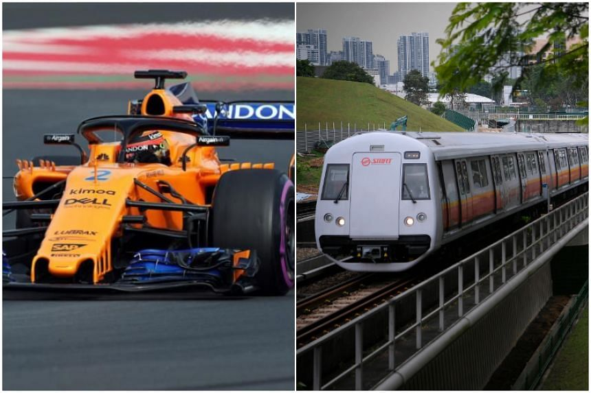 SMRT and McLaren engineers are aiming to adapt race car condition-monitoring technology to assess MRT performance.