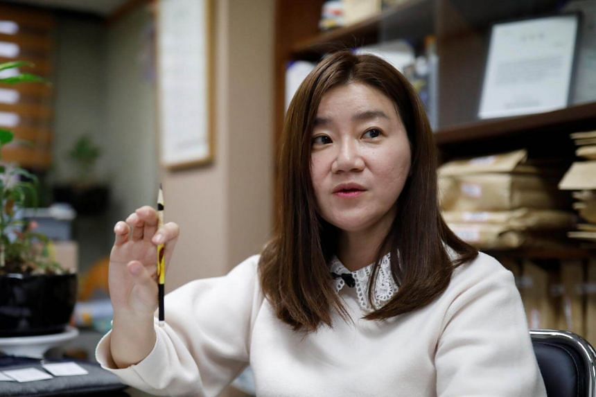 Lee Eun Eui hopes the #MeToo movement now sweeping South Korea will inspire more people to stand up for women.