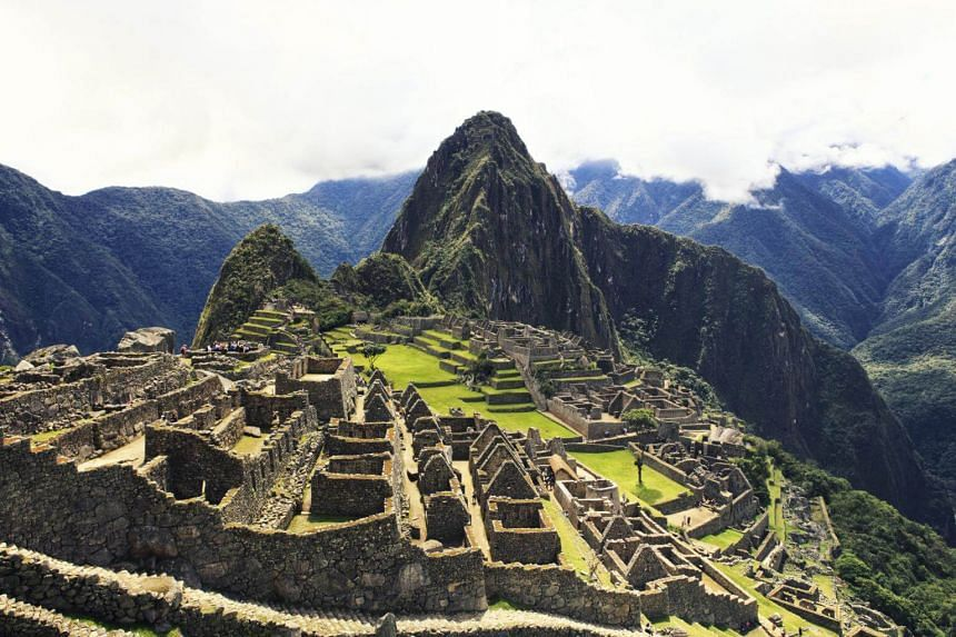 Peruvian authorities consider undressing at Machu Picchu disrespectful.
