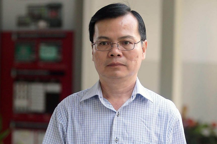 Former general manager and secretary of Ang Mo Kio Town Council Wong Chee Meng, who allegedly took bribes totalling about $107,000 from directors of two building firms, was charged with corruption on March 14, 2018.
