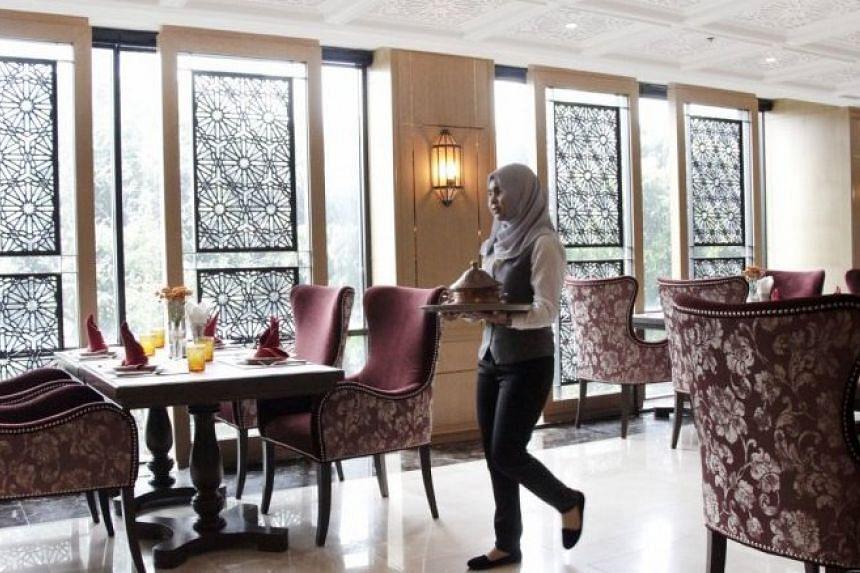 Barakat offers halal-certified cuisine in the Arabian and Mediterranean styles.