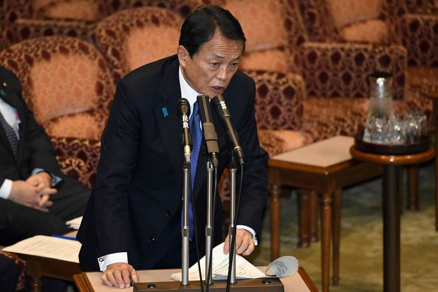 Japan's finance minister Taro Aso has come under fire since his ministry's admission that it had altered records involved in the heavily discounted sale of land to school operator Moritomo Gakuen.