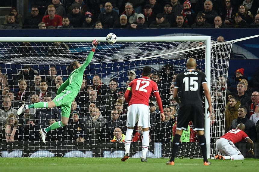 United's defenders were again at fault when they allowed Ben Yedder to head in his second goal from close range. De Gea tried to claw the ball away but replays showed that the ball had crossed the line.
