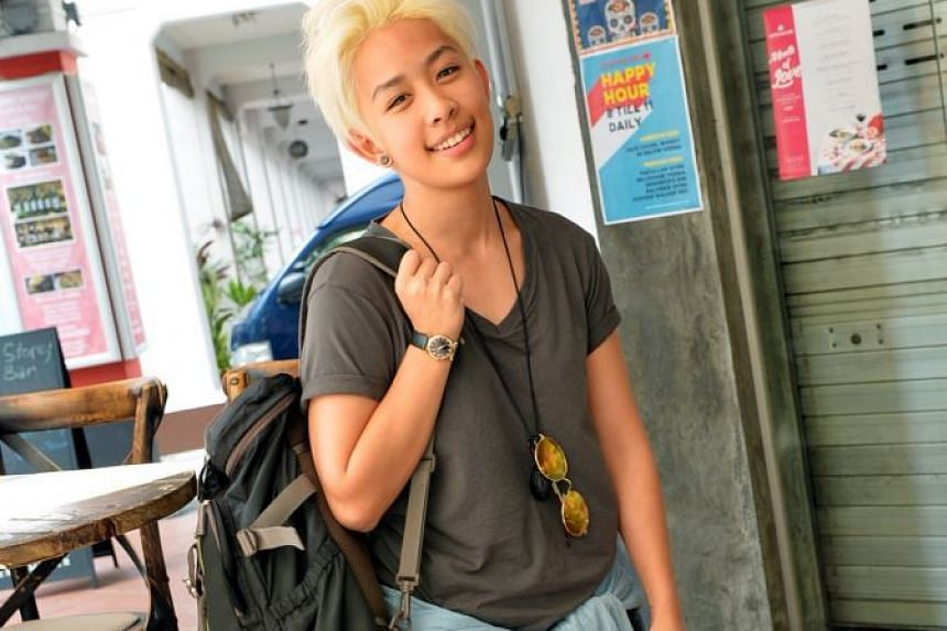 Singer Jean Goh is now working on her first feature-length film project, in which she plays the lead.