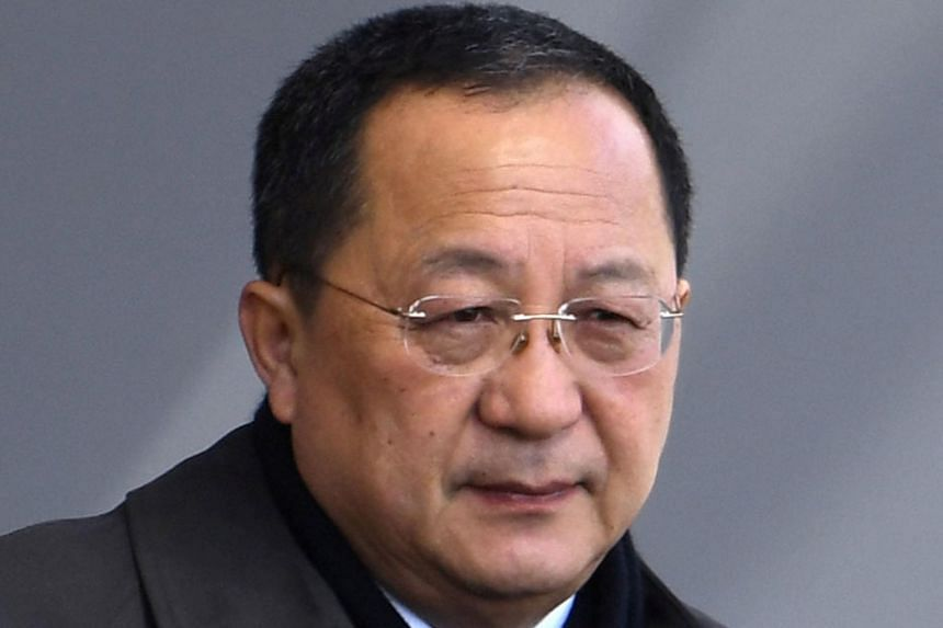 China's foreign ministry confirmed reports that North Korea's foreign minister Ri Yong Ho was transiting through the Chinese capital on his way to Sweden.