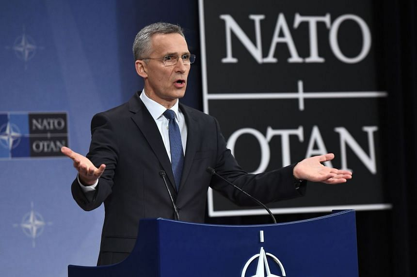 Nato Secretary-General Jens Stoltenberg said the shift in spending marks a significant change, as the alliance seeks to deter Russia and undergoes its biggest modernisation in decades.