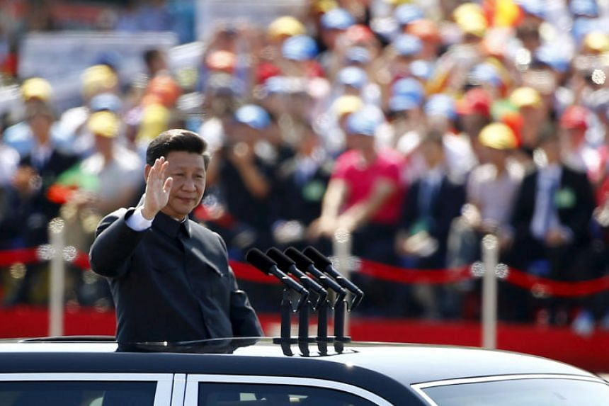 China's President Xi Jinping's first five-year term saw him steadily consolidate power at home through a shock-and-awe anti-corruption campaign while burnishing his credentials as a confident leader.