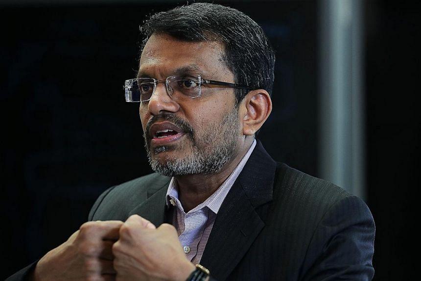 MR RAVI MENON, managing director of MAS.