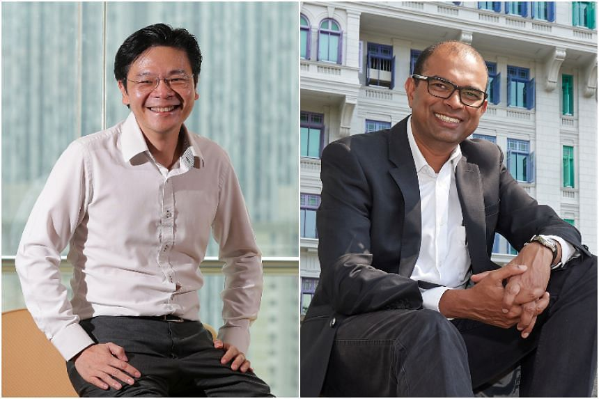 National Development Minister Lawrence Wong and Senior Minister of State for Communications and Information and Education Janil Puthucheary will be advisers to a group of professional association leaders, the National Trades Union Congress said on Ma