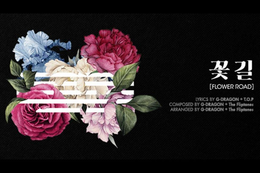 K-pop group Big Bang dropped their new single Flower Road on March 13, 2018.