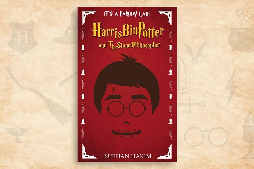 Harris bin Potter and the Stoned Philosopher, a localised parody of Ms JK Rowling's series.