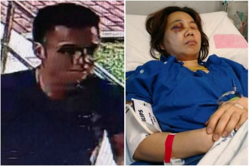 Muhammad Sha'if Jumadi, 23, allegedly knocked into a 45-year-old woman in Bedok Reservoir Road.