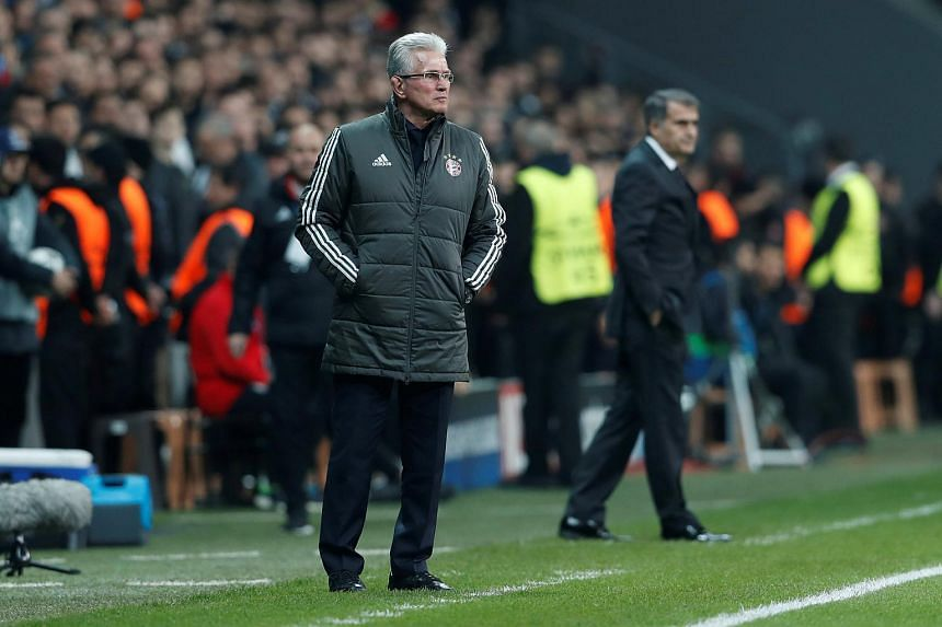 Coach Jupp Heynckes is now targeting a treble with Bayern on course to retain the Bundesliga title, having also reached the German Cup semi-finals.