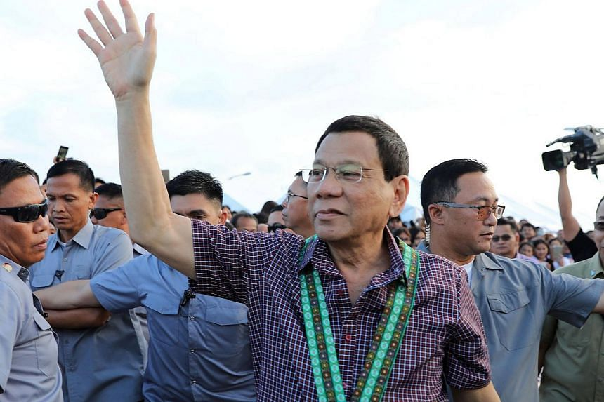 President Rodrigo Duterte declared the country's withdrawal from the International Criminal Court after it launched examination into the deaths linked to his war on drugs.