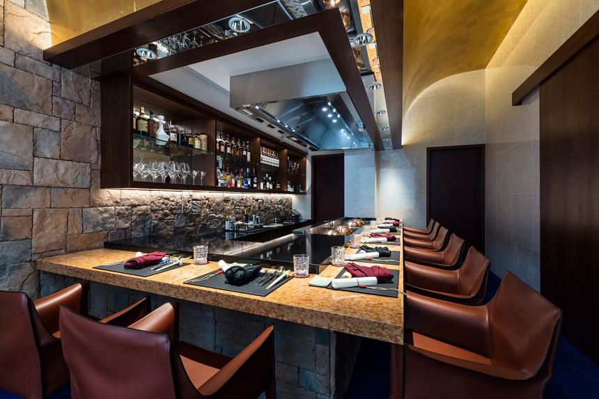 TEPPAN by Chef Yonemura is an intimate space with room for 21 diners.