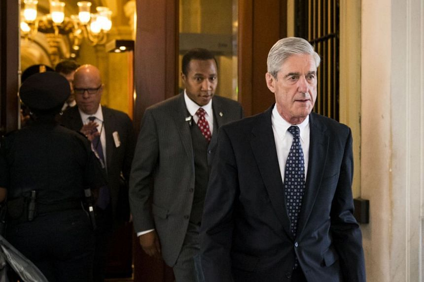 Special counsel Robert Mueller on Capitol Hill in Washington, in June 2017.