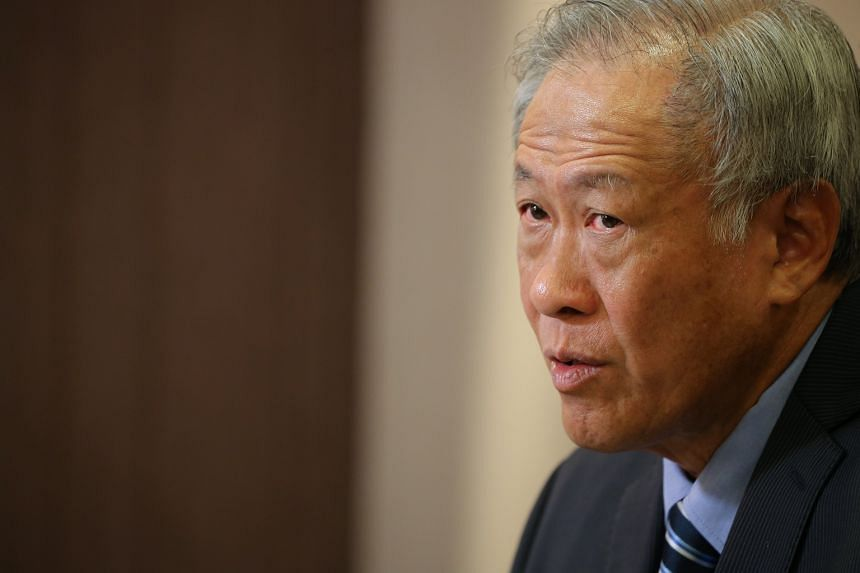 Minister for Defence Ng Eng Hen will be meeting with South Korean Minister of National Defence Song Young Moo during the visit.
