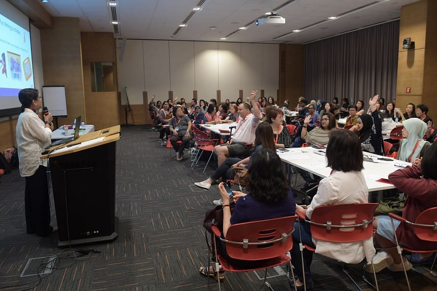 The Dyslexia Association of Singapore's sixth Preschool Seminar in the Lifelong Learning Institute on March 16, 2018.