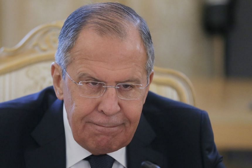 Russian Foreign Minister Sergei Lavrov told a reporter that Russia is planning to expel British diplomats.
