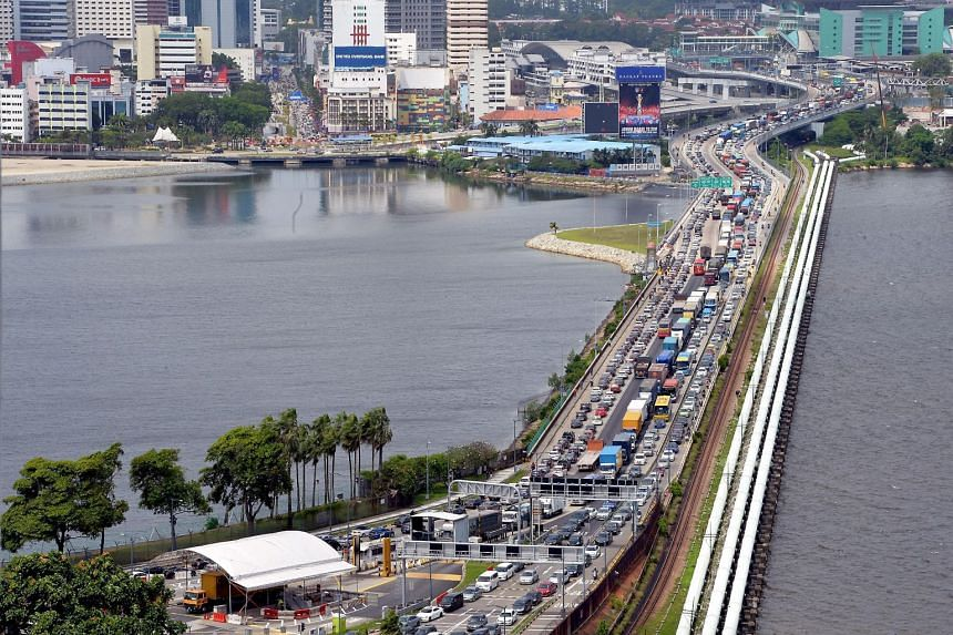 The tags will be released to foreign-registered vehicles entering Malaysia via the Causeway and the Second-Link in stages