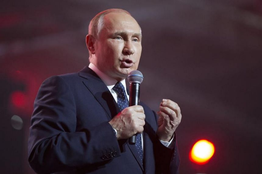 Russian President Vladimir Putin is predicted to win with around 70 per cent of the vote despite a lacklustre campaign.