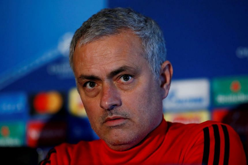 Mourinho's outburst followed criticism of United's exit from the Champions League.