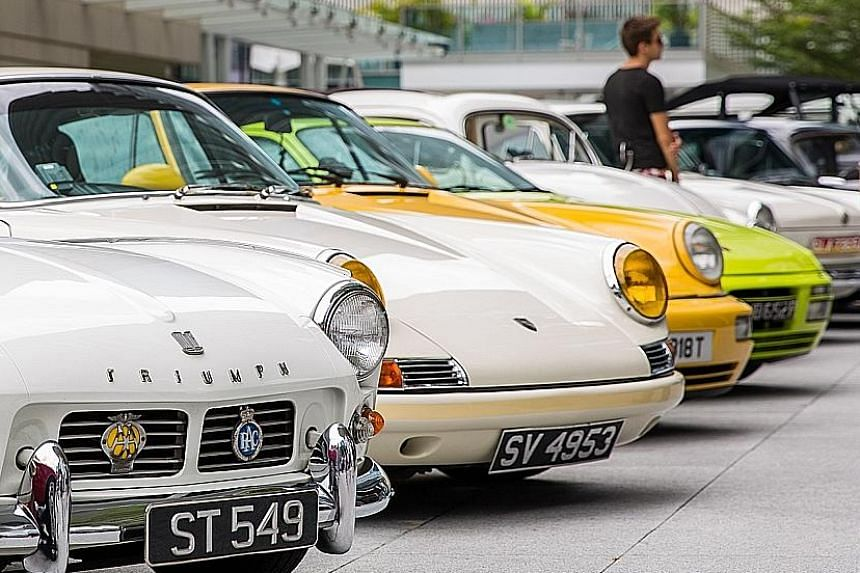 First South-east Asian Concours d'Elegance will feature a congregation of classic cars, supercars and prototypes at The Fullerton Heritage precinct.