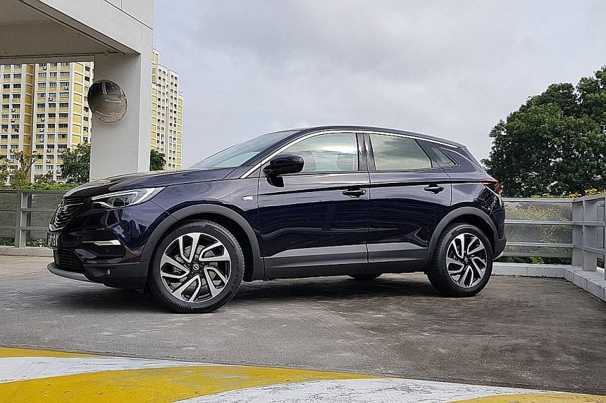 The well-furnished Opel Grandland X meets the needs of the average family.
