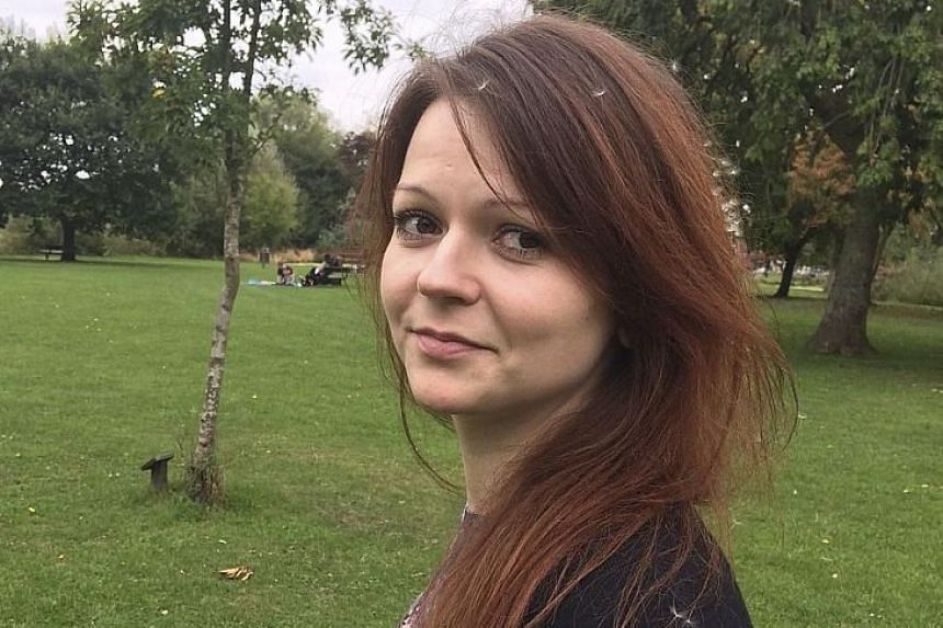 Ms Yulia Skripal flew to London from Russia on March 3, according to police.