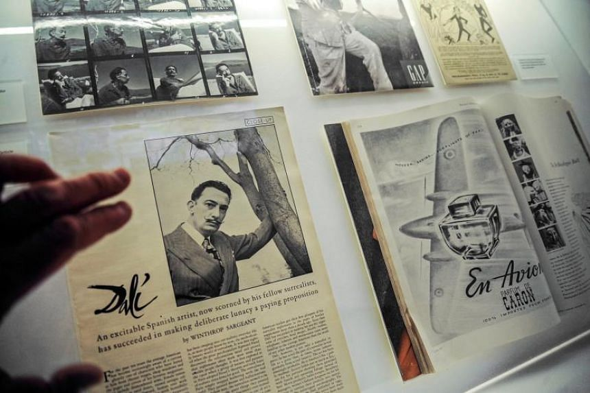 The exhibition 'Ellas Fotografían Dali' at Castle of Pubol in Girona, Catalonia, Spain, on March 14, 2018.