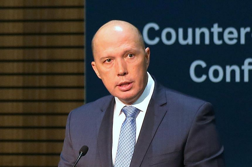 """Australia's Home Affairs Minister Peter Dutton told an Asean-Australia special summit that the use of the """"dark web"""" by extremists and other criminals was a spiralling problem."""