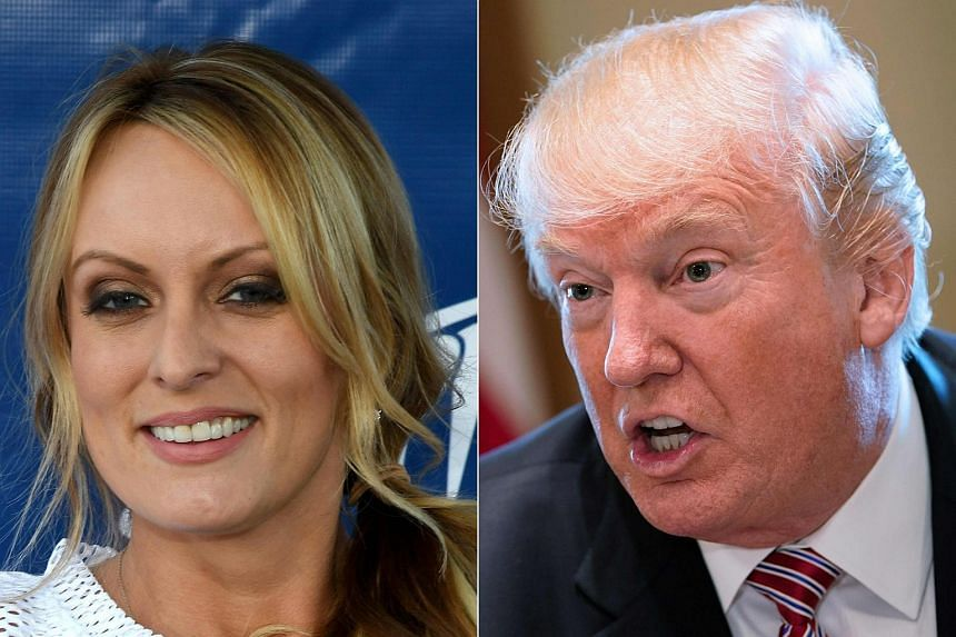 """Adult-film actress Stormy Daniels may face more than US$20 million (S$26.3 million) in damages for violating a """"hush agreement"""" about an affair she alleges she had with US President Trump."""