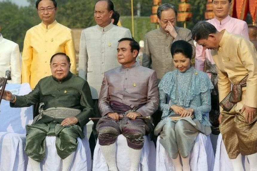 Thai Prime Minister General Prayut Chan-o-cha also urged his Cabinet members and civil servants to wear traditional outfits to work
