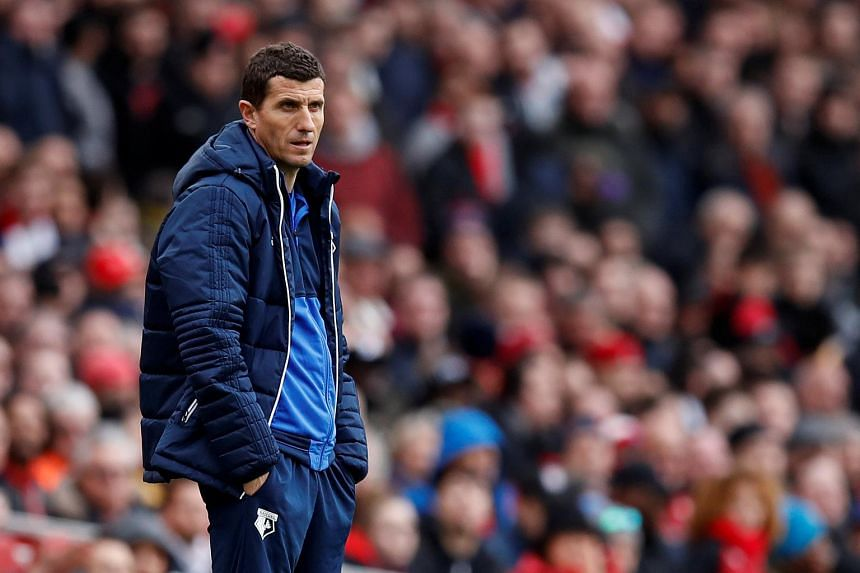 Watford manager Javi Gracia faces an uphill task as his team takes on Liverpool.