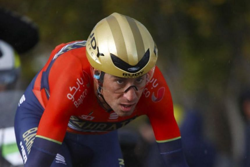 Nibali (above) snatched victory ahead of Australian Caleb Ewan and France's Arnaud Demare.