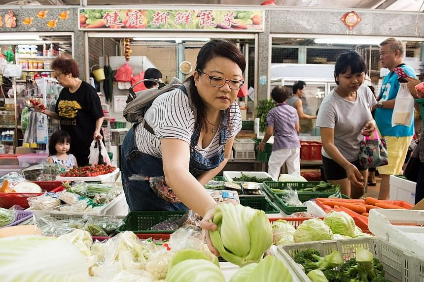 Madam Ade Choo likes that the vendors at Tekka Market give her shopping and cooking advice. Mrs Lesley Ma has her favourite wet market stall holders' phone numbers on speed dial. Madam Tan Kim Keok likes the wet market at Chinatown Complex because pr