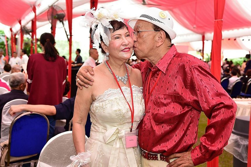 Mr Bian Sin Teck and his wife Tay Mui Eng, both 74, will be celebrating their 52nd anniversary in June.
