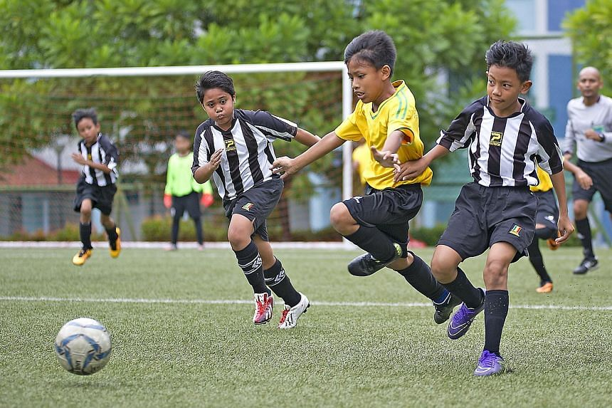 FAS deputy president Bernard Tan feels that current youth-level football is more about players grouping together and following the ball. With the change to an eight-a-side game, they will have more space to develop their touches.