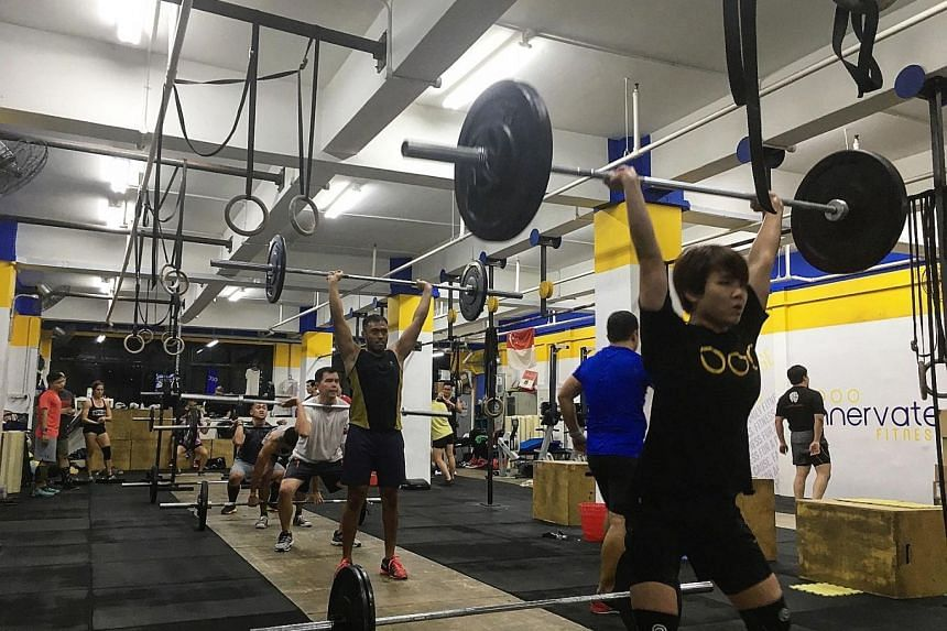 CrossFit at Innervate Fitness.