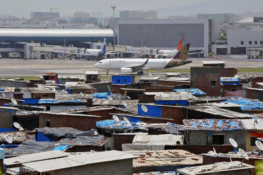 """The Centre for Aviation says  Mumbai's Chhatrapati Shivaji International Airport  is at 94 per cent capacity and is """"close to saturation""""."""