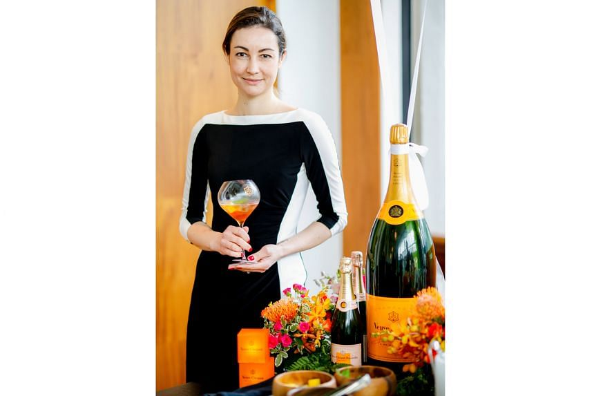 Ms Gaelle Goossens, who is one of 11 winemakers at Veuve Clicquot, is in charge of Chardonnay vinification and the Veuve Clicquot pressing centre in the Cote des Blancs region of Champagne.